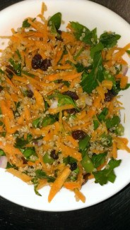 Carrot Ginger Quinoa Salad