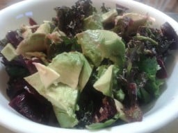 Kale & Beet Salad with Avocado