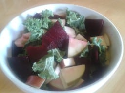 Apple Kale Salad with Beets