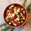 Chick Pea Greek Salad