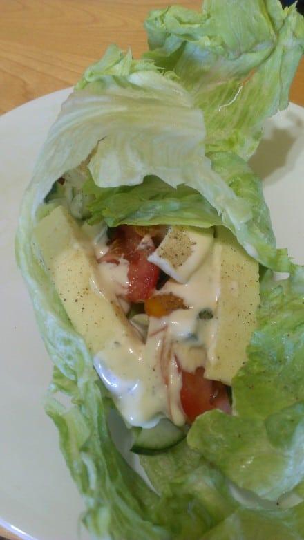 Unstaged Lettuce Wraps