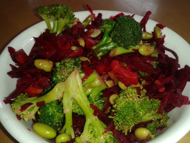 Beet and Broccoli Salad