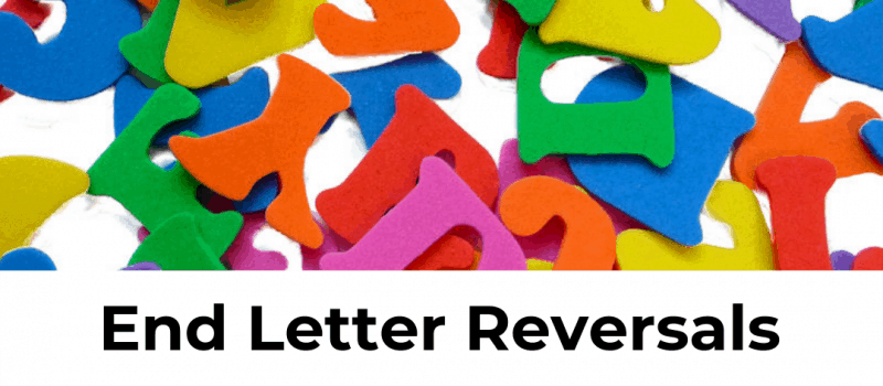 Exercises to End Letter Reversals